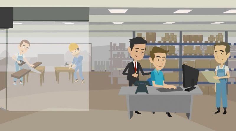 Eğitim ve Okul Mobilyaları Animasyon Firma Tanıtım Filmi