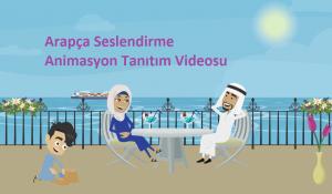 Arapça seslendirme ile animasyon tanıtım videosu
